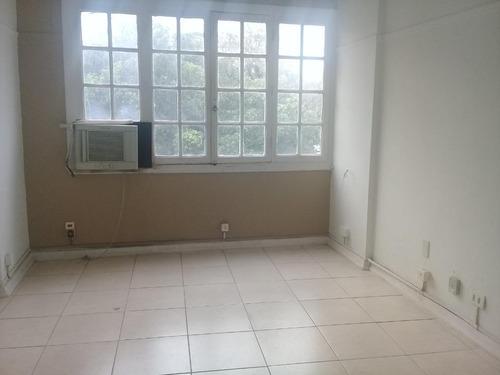 Sala Comercial Para Alugar, 13 M² Por R$ 800/mês - Centro - Santos/sp - Sa0186