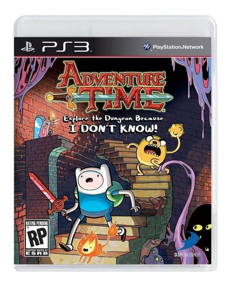 Hora De Aventura Explore The Dungeon Because I Dont Know Ps3