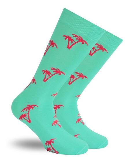 Calcetines Aqua Skunk Socks Con Palmeras