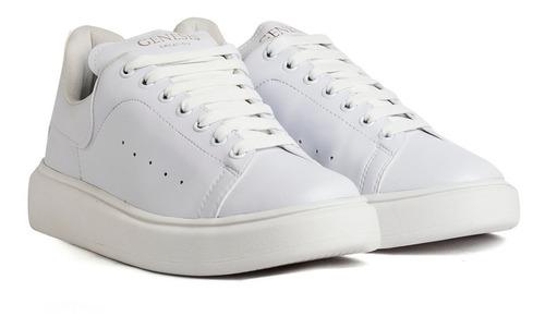 Zapatillas Genesis Urbana Mujer Hombre Blanco Envió Gratis