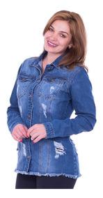 Blusa Jaqueta Jeans K2b