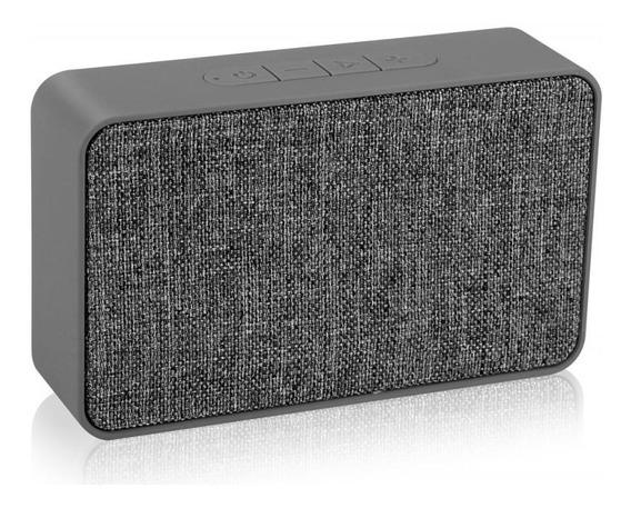 Caixa De Som Portátil Xtrax Speaker X500 Cinza - 5w, Blueto