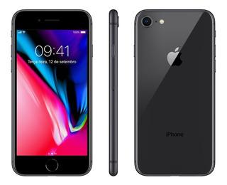 Quase Zero iPhone 8 64gb Prata Valor Promocional