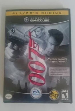 Jogo 007 Everything Or Nothing Game Cube