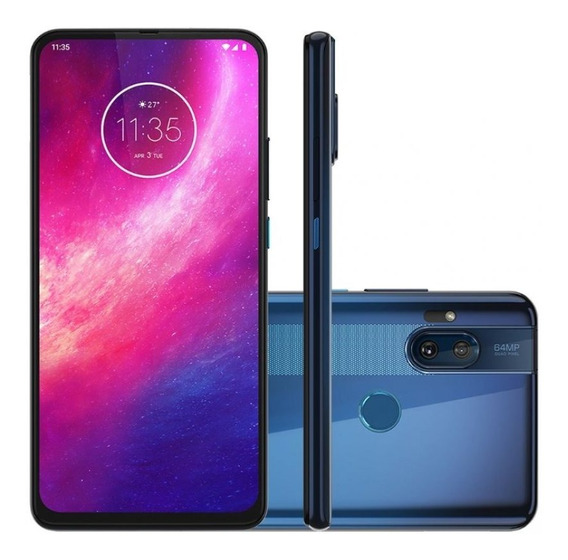 Smartphone Motorola One Hyper 128gb 4g Tela 6.5 Pol. 64mp