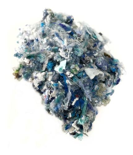 Eco Relleno Mixto De Textil Reciclado 1kg