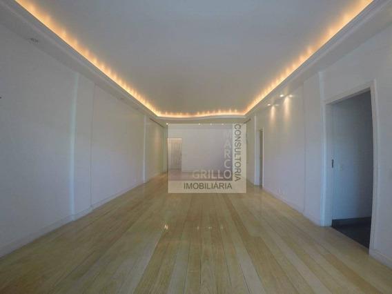 Apartamento Com 4 Quartos Para Alugar, 198 M² Por R$ 3.000,00 + Taxas - Recreio Dos Bandeirantes - Rio De Janeiro/rj - Ap0295