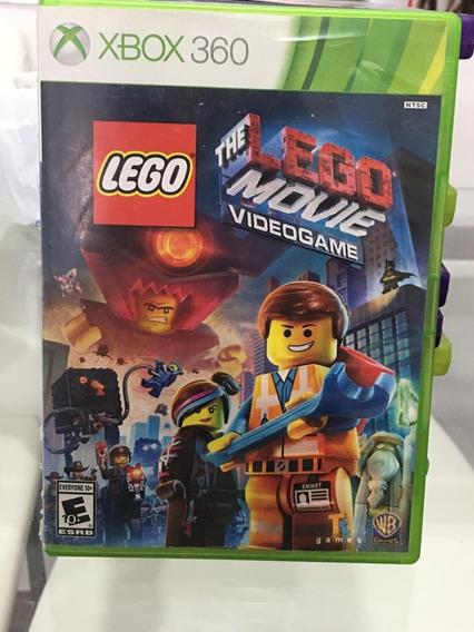 Jogo Xbox 360 Lego The Movie Videogame Original Mídia Física