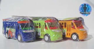 3 Autobúses De Pasajeros Ayco Zafiro De Plástico