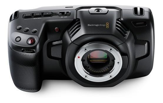 Blackmagic Pocket Cinema 4k A Vista 6590 Envio Hoje Com Nf