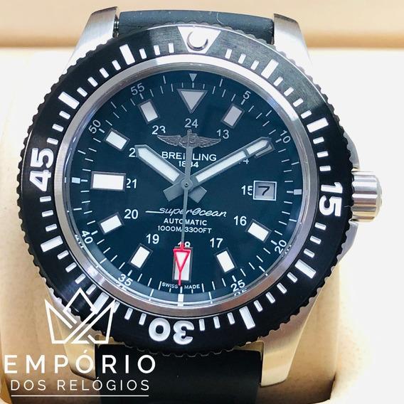 Relógio Breitling Superocean 44 Special Preto Automático