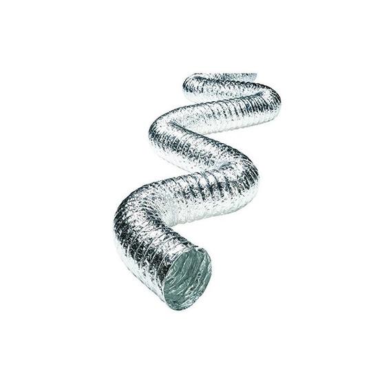Conducto Metálico Deflecto, Multicapa, Súper Flexible, 4 X 2