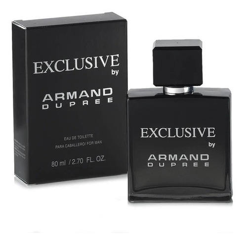 Imagen 1 de 2 de Perfume Hombre Exclusive By Armand Dupree 80ml Fuller