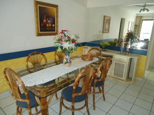 Apartamento  Com 2 Dormitório(s) Localizado(a) No Bairro Barra Funda Em Guarujá / Guarujá  - 5873