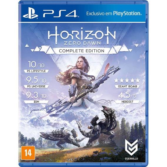 Horizon Zero Dawn Complete Edition Ps4 M.física Novo Lacrado
