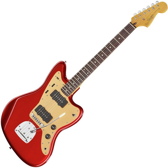 Guitarra Fender Squier Deluxe Jazzmaster C/ Tremolo Vermelha