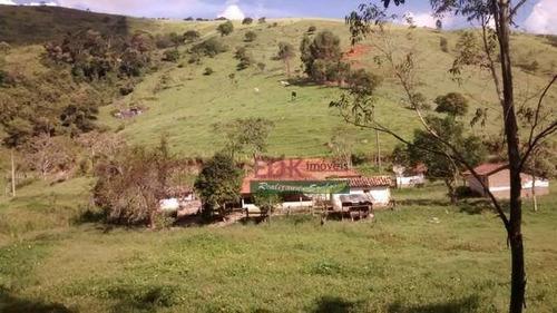 Imagem 1 de 7 de Chácara Com 5 Dormitórios À Venda, 21460 M² Por R$ 330.000,00 - Catuçaba - São Luiz Do Paraitinga/sp - Ch0698