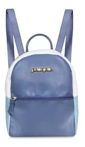 Mochila Amber Petite Jolie Azul 4275