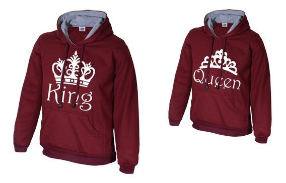 2x1 Buzo Saco Novios Parejas King Queen