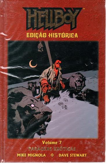 Hellboy Edicao Historica 07 - Mythos 7 - Bonellihq Cx266 D19