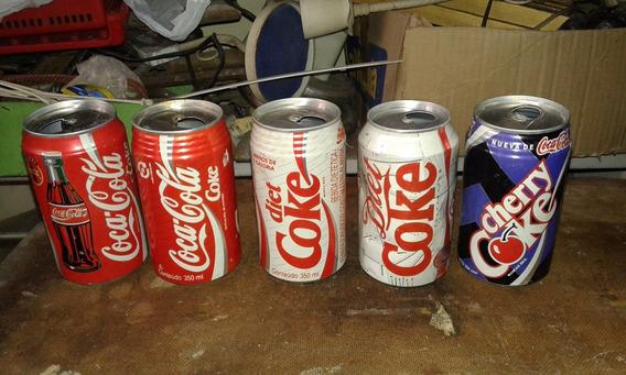 Latas Coca Cola Antiguas Retro 11 Motivos Deiferentes Gusx