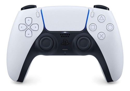 Imagen 1 de 3 de Joystick inalámbrico Sony PlayStation DualSense CFI-ZCT1 white y black