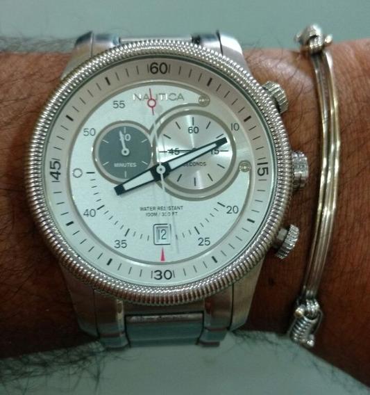 Relógio Náutica Masculino Aço Vivara A156936