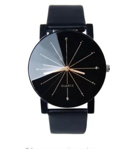 Relógio Pulso Preto Masculino Feminino Barato Lindo+estojo