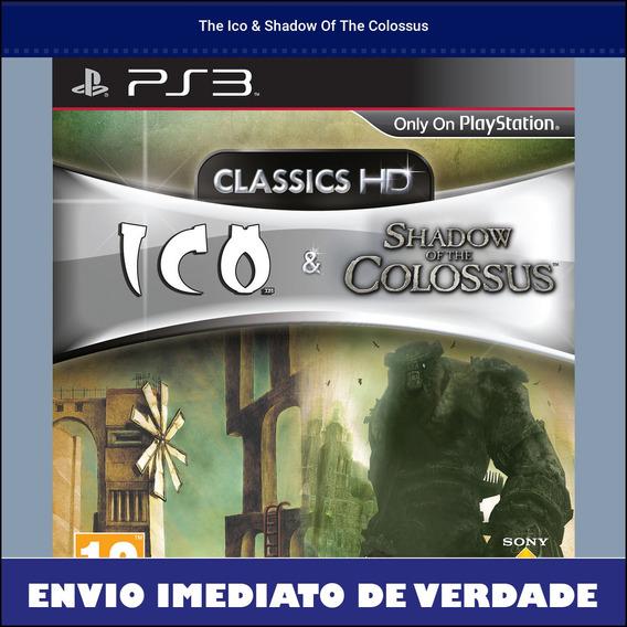 The Ico & Shadow Of The Colossus Digital Envio Imediato