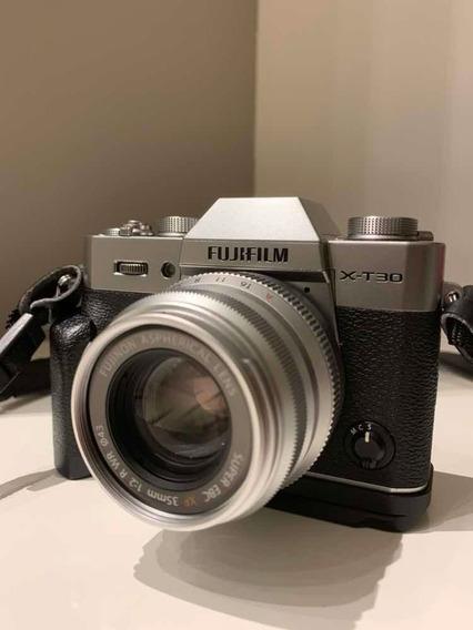 Fujifilm X-t30 Com Lente 35mm F2