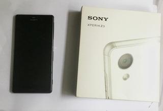 Sony Xperia Z3 D6603 Com Defeito / Para Retirada De Peças