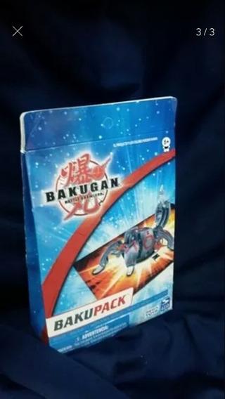 Set De 3 Sobres Bakupack Al Azar Bakugan