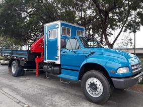 Caminhão Munck Com Cabine Suplementar, F14000, 1997