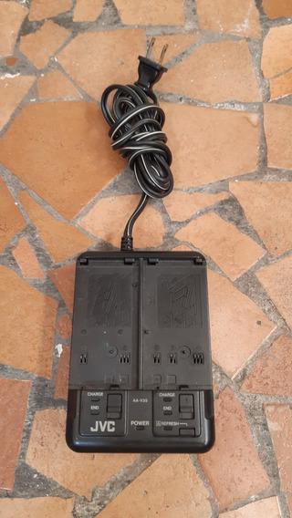 Carregador Bateria Duplo P/ Filmadora Jvc Vhs C Mod. Aa V35