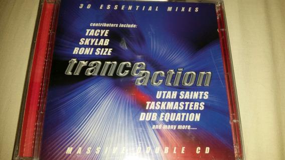 Cd Trance Action 30 Essential Mixes Duplo Lacrado Roni Size