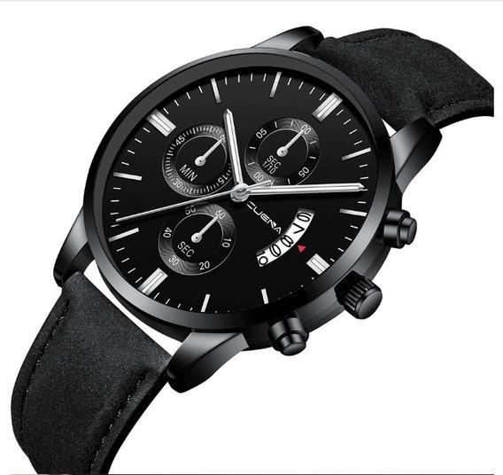 Relógio Esporte Analógico Aço Inoxidável Quartzo Luxo