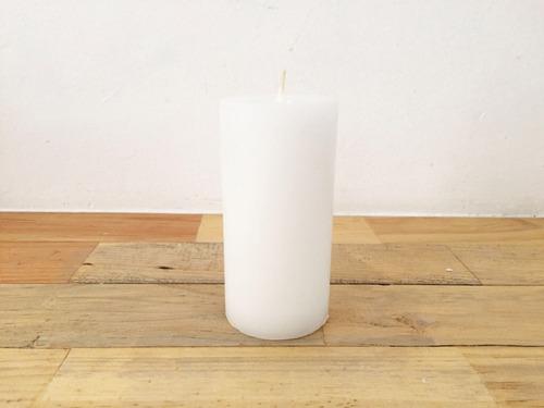 Imagen 1 de 1 de 10vela Cirio 5cm X 15 Cm De Alto  Color Blanco