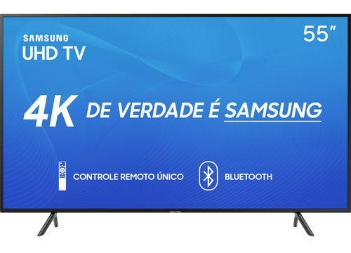 Smart Tv Led 55 Samsung 55ru7100 Ultra Hd 4k Com Conversor