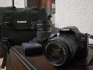 Camara Canon Eos Rebel T6 Lente 75-300mmcon Su Estuche