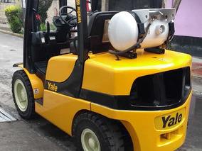 Maquinaria De Construcción Montacargas Yale 3 Toneladas 2015