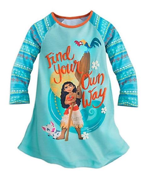 Disney Moana Camisn Pijama Talla 3 Años