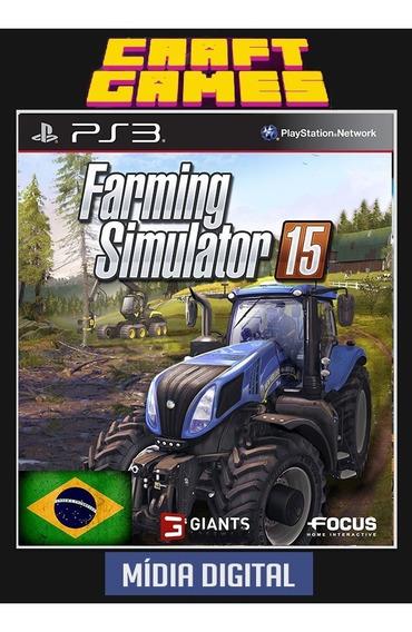 Farming Simulator 15 Pt-br Psn Ps3 Midia Digital