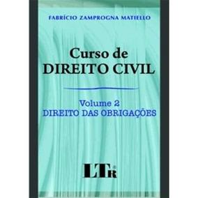 Curso De Direito Civil - Vol. 2 - Direito Das Obrigações