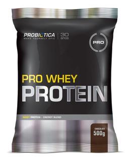 Pro Whey Protein 500gr Refil- Probiótica Chocolate