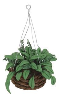 Escala 1/12 Plantas Artificiales Colgantes En Miniatura