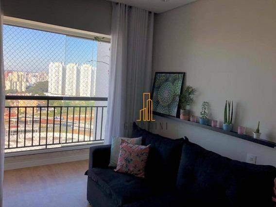 Apartamento Com 2 Dormitórios À Venda, 56 M² Por R$ 405.000,00 - Planalto - São Bernardo Do Campo/sp - Ap1603
