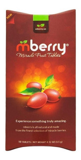 Mberry Tabletas De Bayas Milagrosas | Acido Cambia A Dulce!
