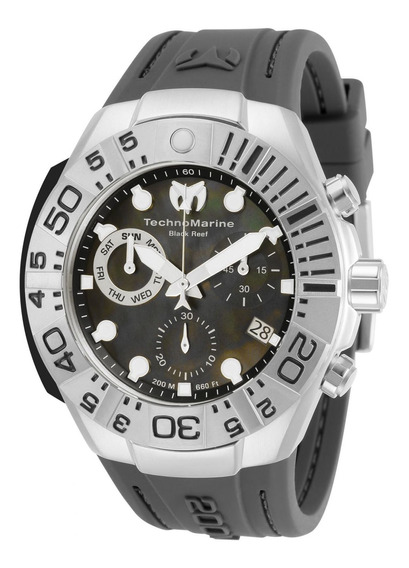 Reloj Technomarine Tm-518010 Gris Oscuro Hombres