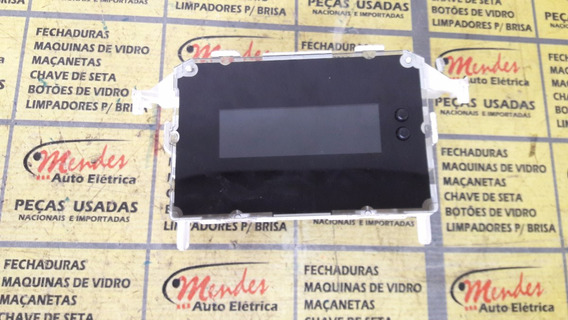 Tela Display Lcd-cd-relogio Do New Fiesta #ae8t-18b955-cb