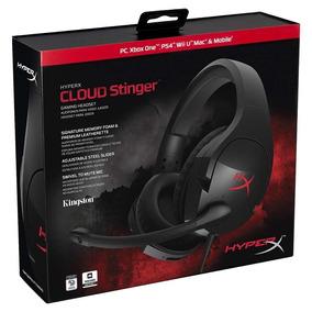 Headset Fone Gamer Hyperx Cloud Stinger Preto Hx-hscs-bk